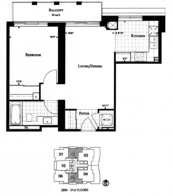 uptown residences 35 balmuto st toronto condos lofts For10 Bellair Floor Plans