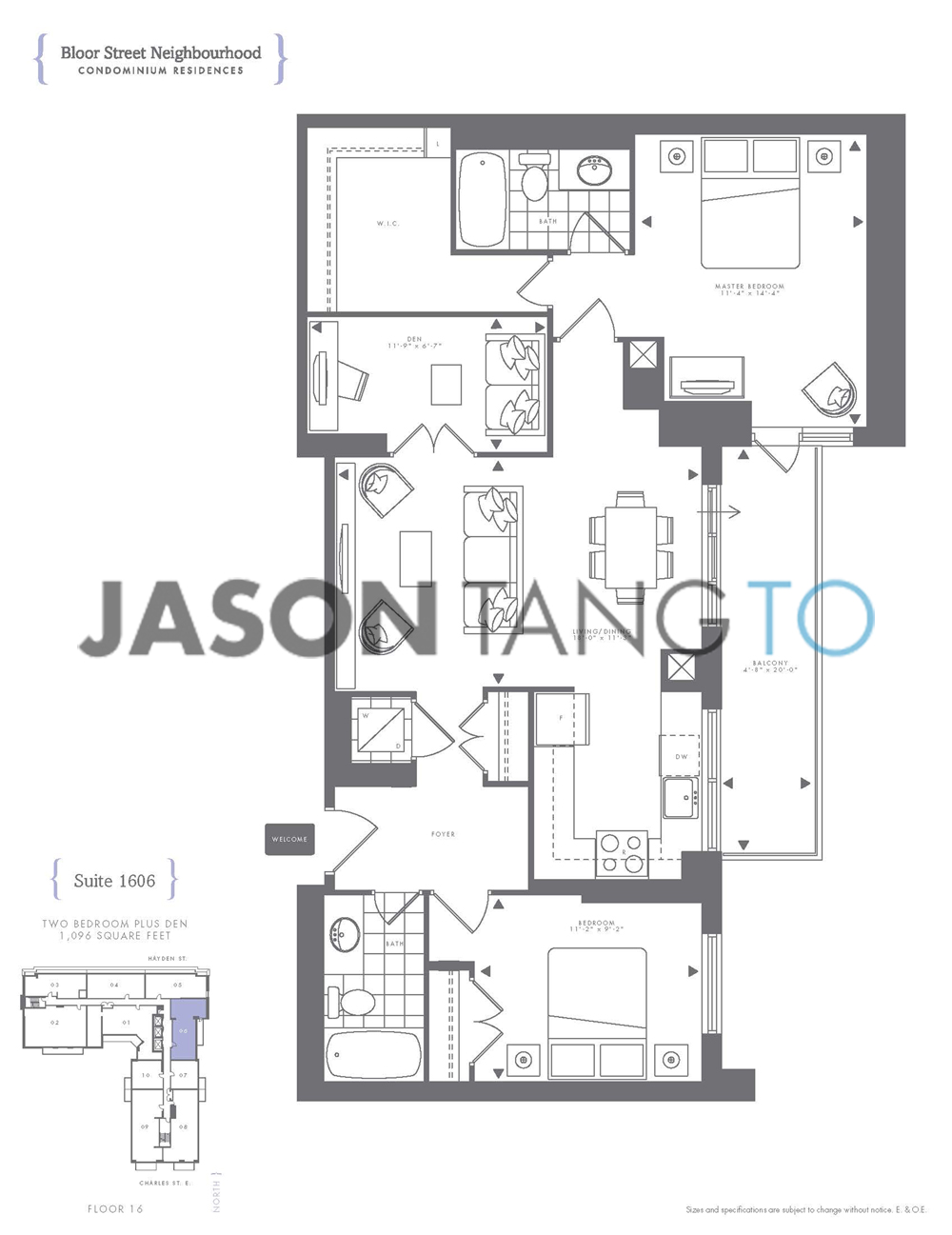 Awesome 16 yonge street floor plans contemporary for 12 yonge st floor plan