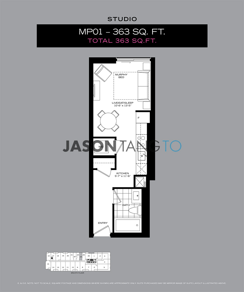 8 Mercer Floor Plans